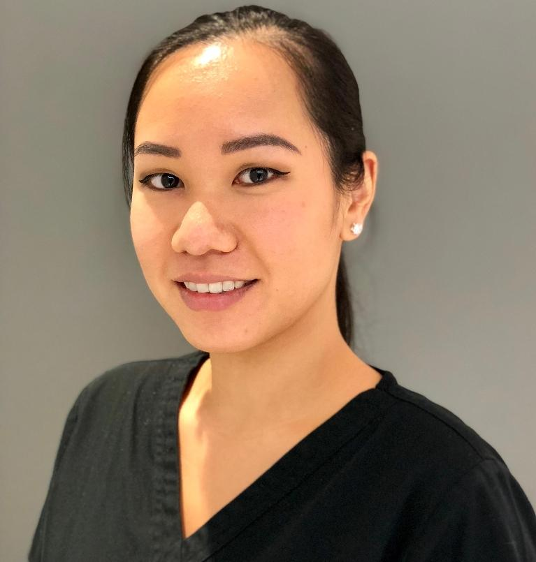 dental cleanings in Greenwich village, our dental hygienist Shirley Tam