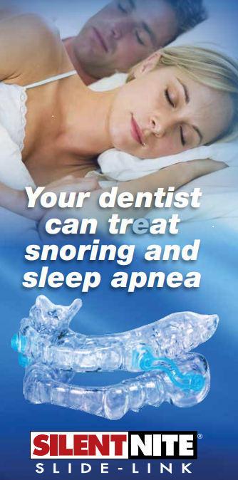 silent nite anti snore dental device at dr. bracy's dental office