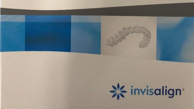 Invisalign Box at Dr. Bracy's NYC dental office