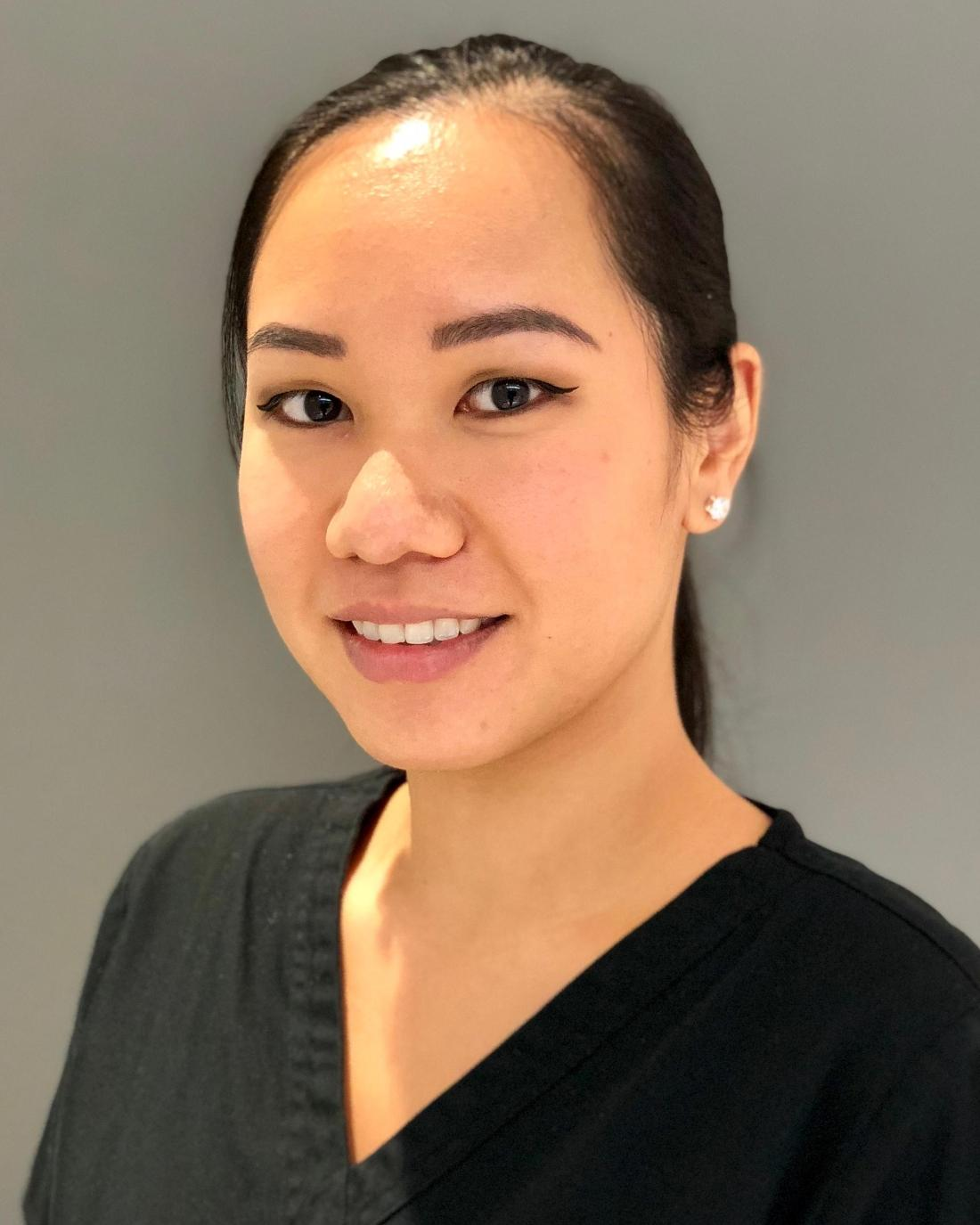 Dr. Bracy's dental office hygienist in the West Village. Shirley does dental cleanings!